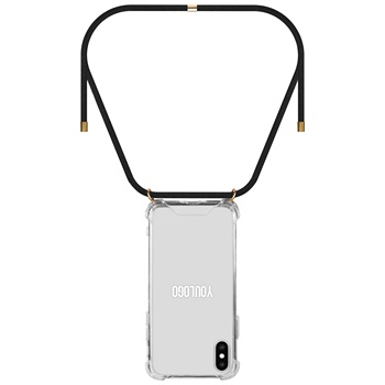 22 Color Stock Rope Straps Small MOQ Necklace Mobile Cell Phone Case For Samsung S10 Cross Body Phone Cover With Necklace
