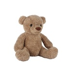 Plush Teddy Bear Factory OEM Super Soft Cute Brown Teddy Bear Peluches Oso Lovely Bear Plush Toy Custom Teddy Bear