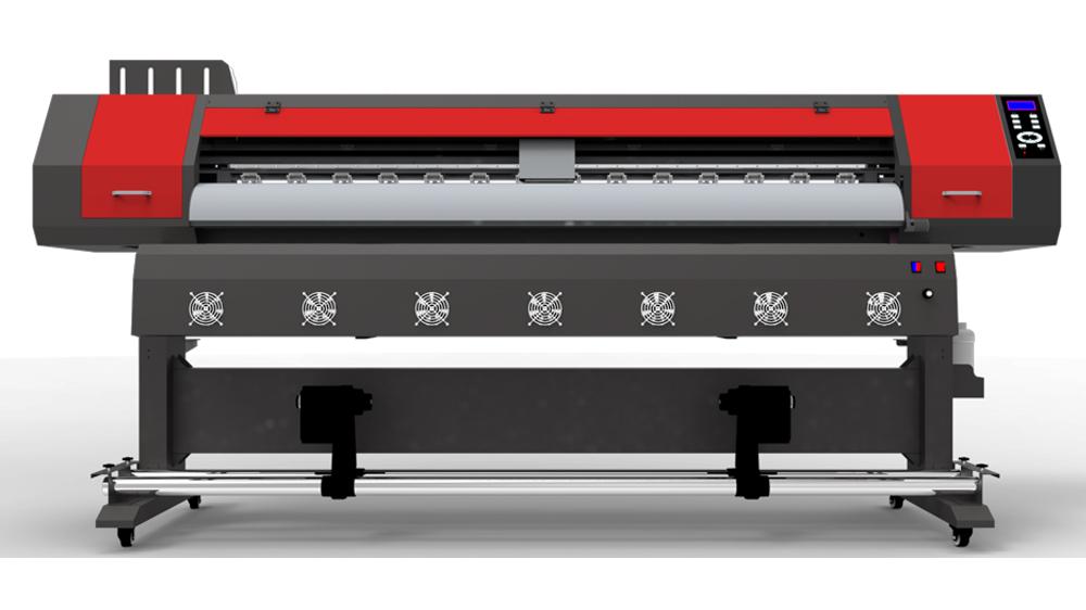 ดิจิตอลI3200iบิลบอร์ด1.6เมตร1.8เมตรสติกเกอร์แบนเนอร์พิมพ์Xp600 Ecoเครื่องพิมพ์ตัวทำละลาย