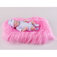 Baitian Baby Photo Wrapping Imitated Fur Photo Blanket