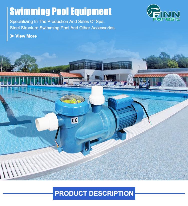 Single-Stage Frequency Pool Circulation Water Motor Self-priming 0.75KW Swimming Pool Pump