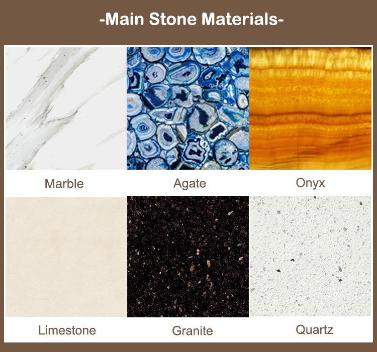 1Premium poli espagne crema marfil marbre carreaux prix par mètre carré