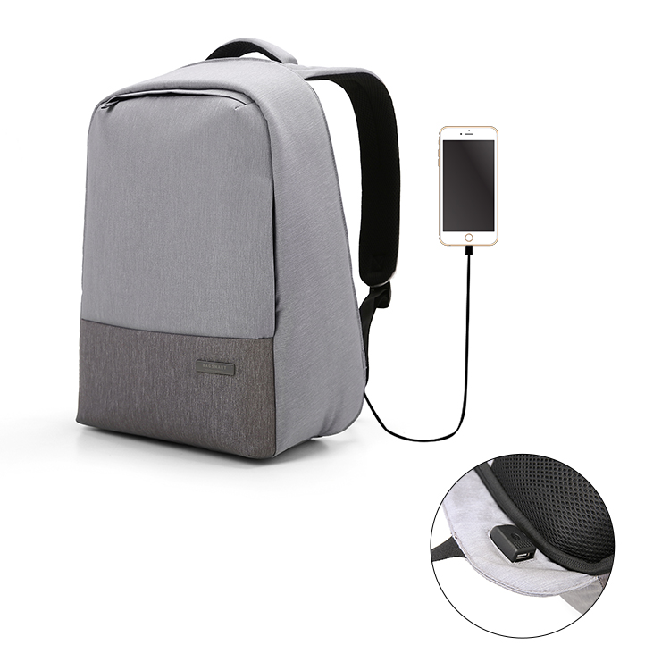 Factory Wholesale Mochilas Bag OEM ODM Business Men Waterproof Anti Theft Smart Laptop Backpack with USB Port