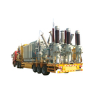 Safe and easy to operate mobile transformer substation electrical