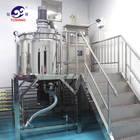 China supplier new product Jacket Mixer Stainless Steel shampoo Mixing Tank liquid soap making machine