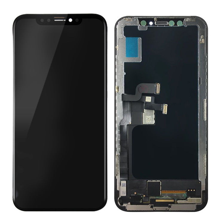 Groothandel Mobiele Telefoon OLED LCD Touch Screen Voor iPhone XR XS Max LCD Display Digitizer Vergadering Vervanging