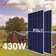 Canadese solare mezza cellulare poly 400w <span class=keywords><strong>pannello</strong></span> solare <span class=keywords><strong>FOTOVOLTAICO</strong></span> 400W 430W 435W 440W solare <span class=keywords><strong>fotovoltaico</strong></span> pannelli cs3w 405 watt