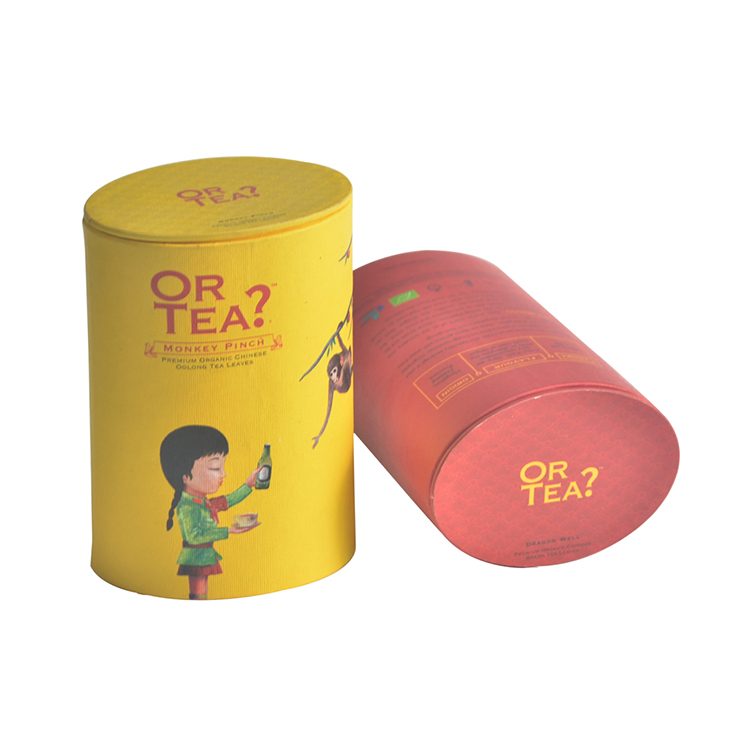 Packaging Tube Paper Cylinder Box with Custom Logo Cylinder Box