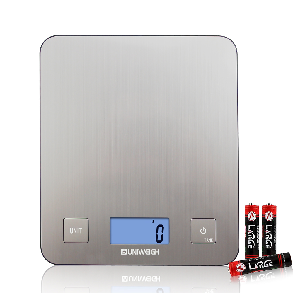 Amazon Hot Sell Bascula Cocina Custom Multifunction Food Scale 5kg Stainless Steel Digital Weighing Kitchen Scale