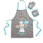 Children Painting Apron Waterproof Art Apron for Student Art Smock Apron Kids cheap christmas cotton kitchen pinafore