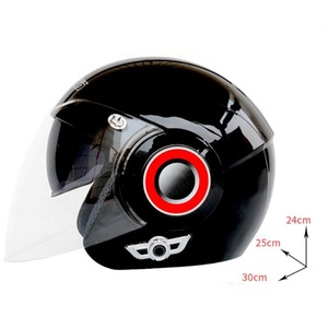 Dual-lens cheap motorcycle bluetooth headset helmet