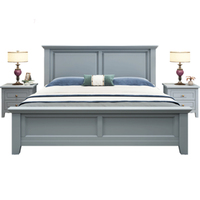 Luxury American bedroom furniture sets king size bed