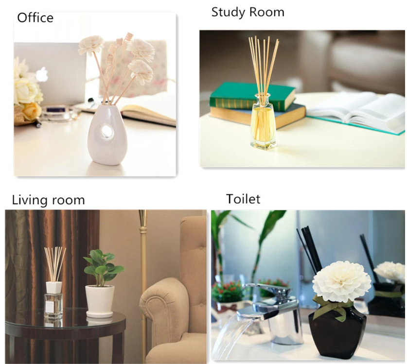 2019 Home Air Freshener Use Reed Diffuser Rod for office
