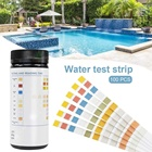 Chlorinator Pool Spa Aquarium 6 Way Water Test Strips PH Total Alkaliity Nitrite Residual Chlorine Hardness