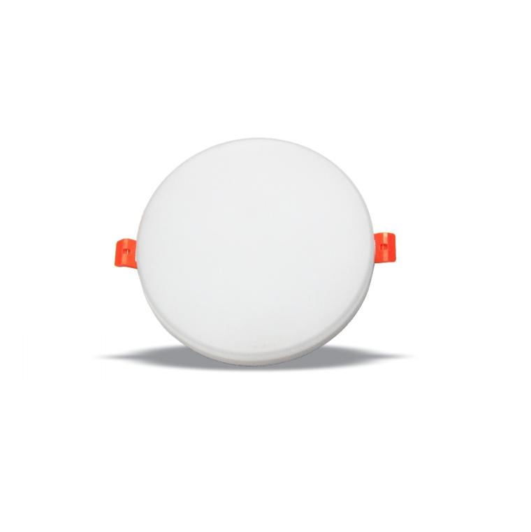 Led ultra-thin down light 12W circular embedded Sky Lantern household adjustable bezel-less panel light