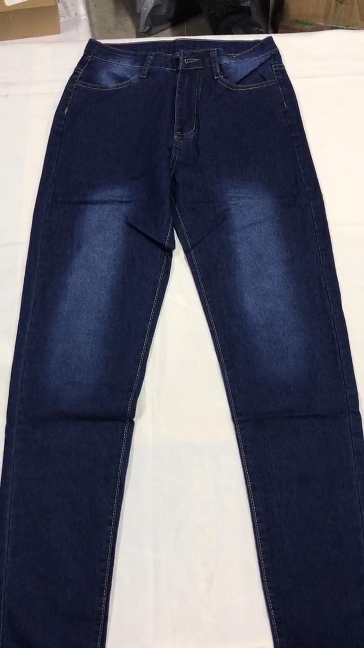 YSMARKET ince kot kadınlar için sıska yüksek bel kot kadın mavi kot kalem pantolon streç bel kadın kot E211