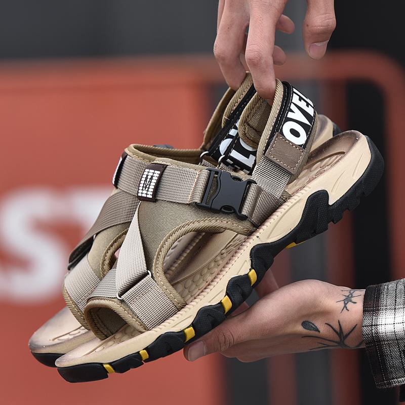 Hook Loop Summer Season Men Beach Sandals Best Quality Sandals