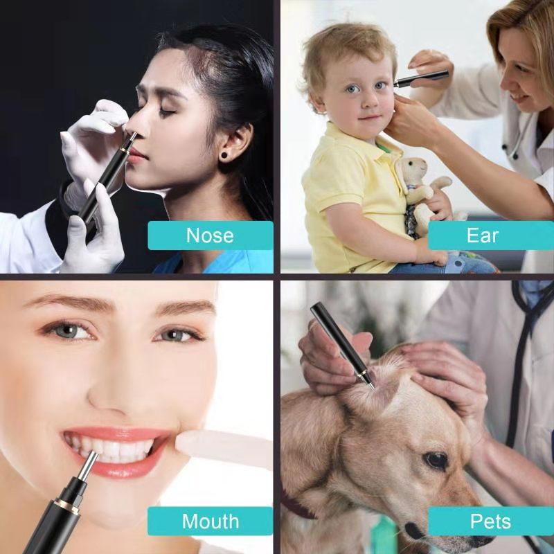 Oem & odm brand T1-3 wifi wireless endoscope otoscope ear kit for ear wax remover cleaning