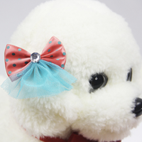 Wholesale Polka Cute Pet Dog Hair Accessories