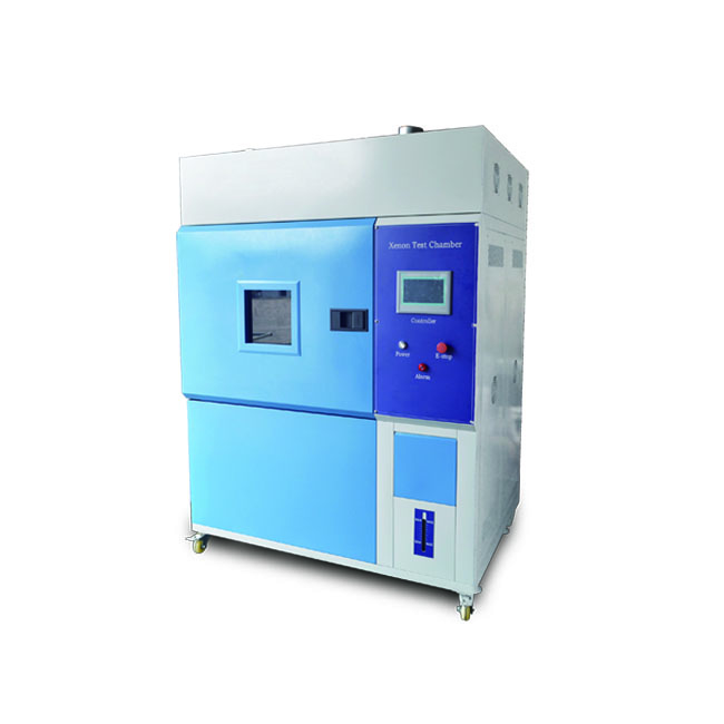 Multi-functional xenon arc test machine and aging weather meter test room