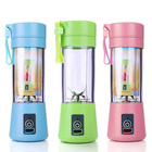 6 Blades Countertop USB Kitchen Battery Portable Personal Fruit Juicer Blender With CE