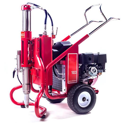 High pressure airless paint putty spraying machine