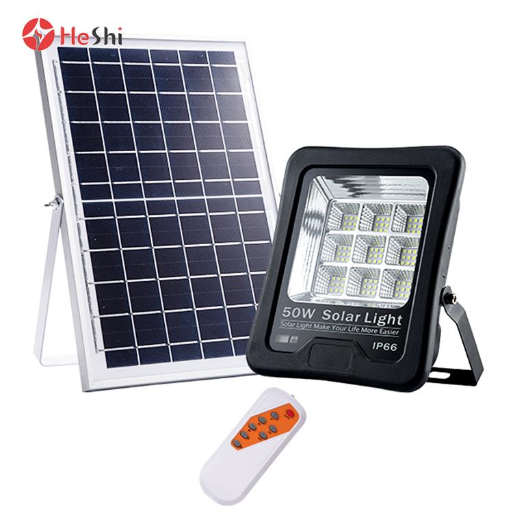 High power high bright outdoor  ip66 50w 100w 200w solar led flood light