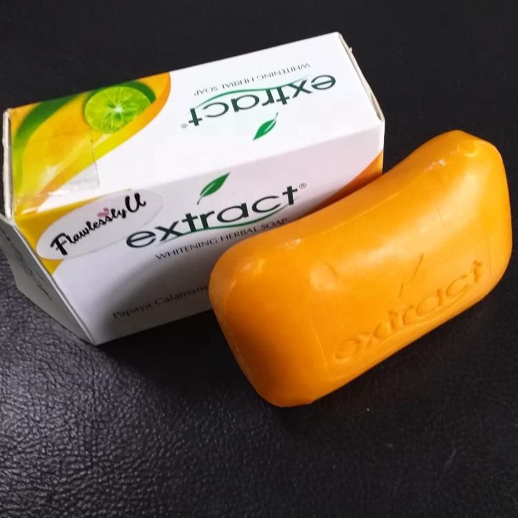 125g natural likas papaya calamansi organic whitening herbal fruit body extract soap