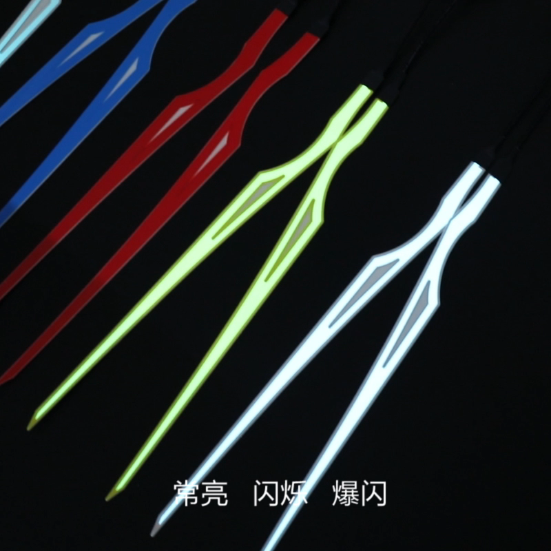 מוצר חדש עמיד למים מגניב אור LED רצועות קסדת אופנוע רכיבה אור רצועת נטענת