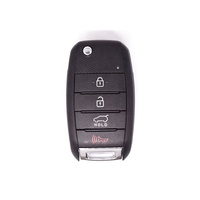Original FCCID OSLOKA-875T Model OKA-NO34/OKA-875T(PS-TP) Flip Remote Car Key FSK433.9MHz 4D60chip With 3+1 buttons Fit For Soul