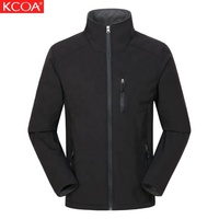 KCOA Low MOQ Thermal Fleece Coats And Jacket Mens Jackets With Logo