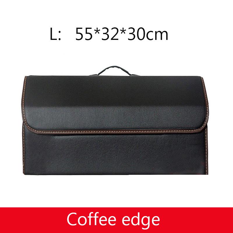 Многофункциональный органайзер для багажника автомобиля из искусственной кожи, коробка для хранения Авто мусора, сумка для инструментов, с...(Китай)