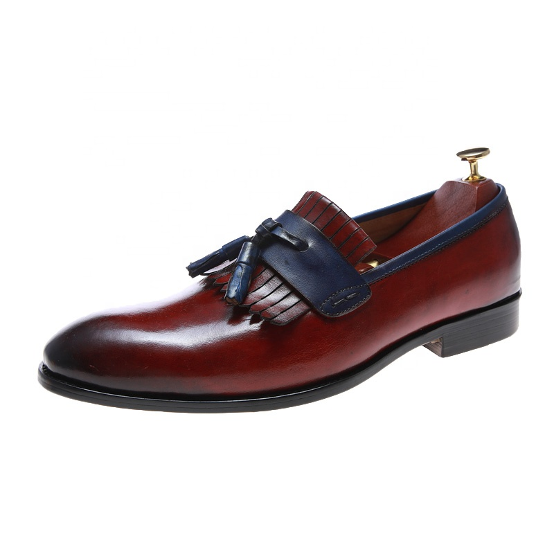 Custom wholesale hot sales wedding customised top high quality chinese leather shoes for men