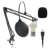 2019 New USB Condenser Microphone Kit Karaoke Microphone Studio Mic for Computer Live Broadcast Online Chatting Recording