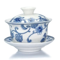 Chinese style Blue and white porcelain tea set