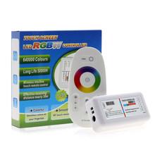 Сенсорный экран RGB / RGBW светодиодный контроллер DC12-24V 2,4G беспроводной RF контроллер с пультом дистанционного управления для RGB RGBW RGBWW светодио...(Китай)