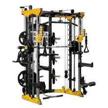 Functionele Trainer Kabel Crossover Station Home Gym Katrol Machine Fitnessapparatuur Smith Kooi Multi <span class=keywords><strong>apparatuur</strong></span>