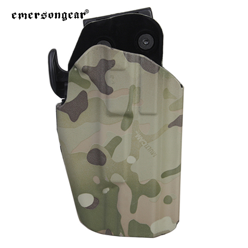 Emersongear 579 Tactical Pistol <strong>Holster</strong> Right Hand With Belt Clip Military Army Hunting Shooting <strong>Holster</strong> Gear EM6284