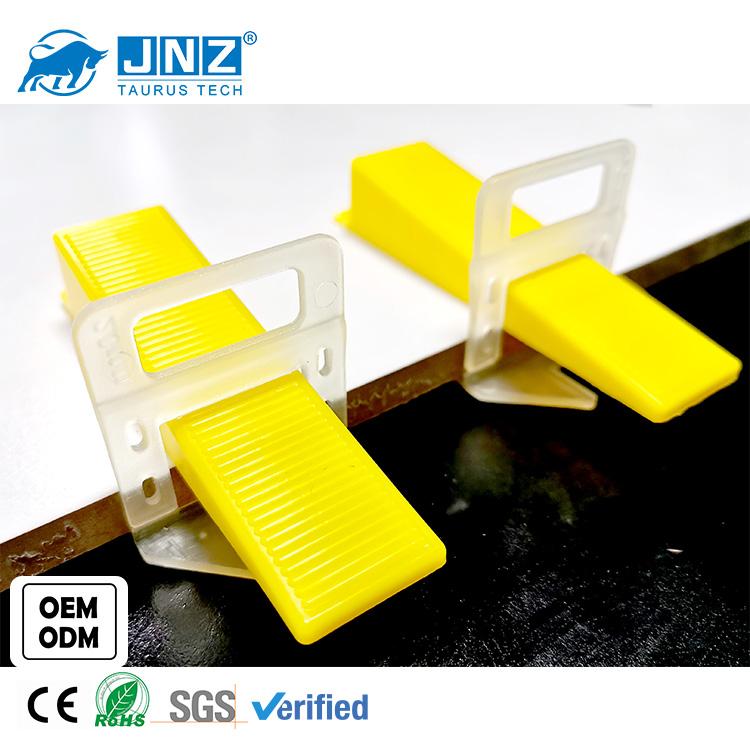JNZ free sample wall tile system gasket plastic tile floor leveler