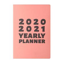 Ежедневник для ежедневника, ежедневный ежедневник, ежедневник, записная книжка, планировщик, escolar planificador semanal, легко носить с собой, 2020 год(Китай)