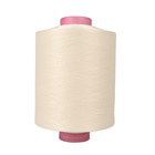 Hot sale OEM poly span knit fabric thread 300d cationic polyester yarn dty