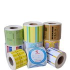 Customized Print Roll Thermal Label Sticker