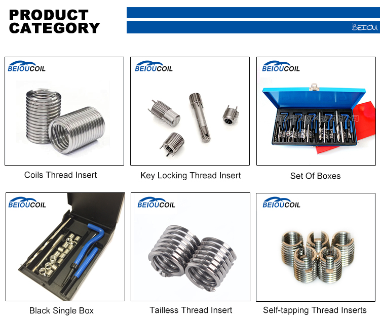 Chinese wholesalers produce fasten fasteners solid threaded inserts for sheet metal free running thread insert factory direct