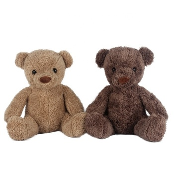 Factory Wholesale Kids Plush Teddy Bear Soft Toys Custom Brown Cute Teddy Bear