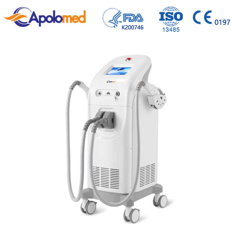 Med Apolo portable machine pain free shr ipl hair removal