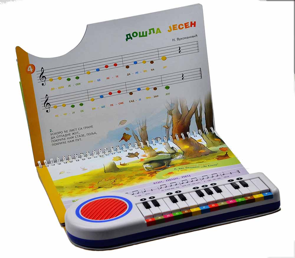 The Baby Pianist music book sound book