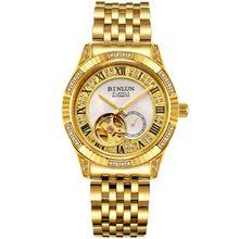 Лидирующий бренд, часы для мужчин, 18K золото, Роскошные автоматические механические часы, Rolexable, водонепроницаемые, устойчивый к царапинам, ц...(Китай)