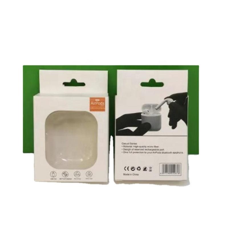 سعر المصنع بالجملة صندوق تغليف ورقي سماعة غطاء علبة التعبئة والتغليف ل Airpod حقيبة سماعة الاذن مربع