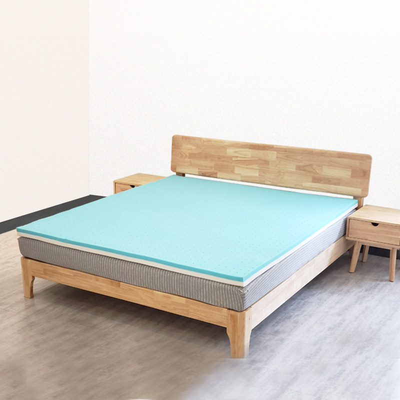 Gel Infused Cooling Memory Foam Mattress Topper Bed Mattress With