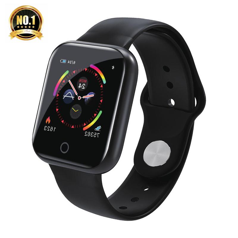 Valdus 2020 Smart Uhr I5 Herz Rate Monitor Wasserdichte Fitness Tracker Blutdruck Radfahren i5 Smartwatch für iOS Android